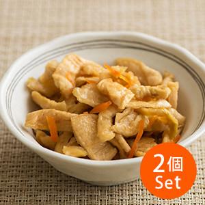 【3%OFF】脆嫩爽口無添加 柚子風味蘿蔔乾漬物 110g×2包 (宮崎縣製)