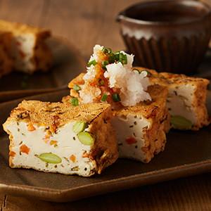 把握新鮮一刻 香煎蔬菜枝豆豆腐 140g (愛知縣製)