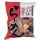 【無味精即食麵】湯喝掉也不口渴 醬油拉麵 99g (岐阜縣製)