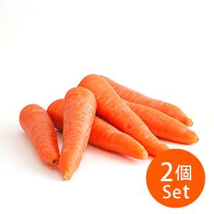 [5%OFF★當造蔬果SALE] 連芯都纖細甜蜜 甜芯紅蘿蔔×2袋組合