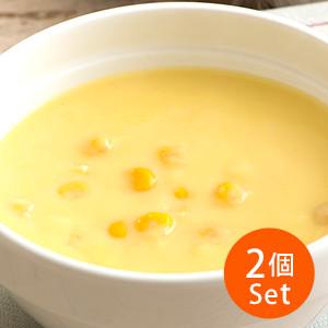 【3%OFF】加熱即食 香濃北海道粒粒粟米湯 1人份 160g×2包 (佐賀縣製)