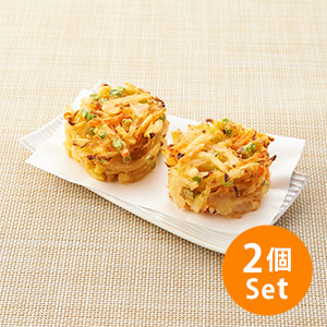 【5%OFF】放入蕎麦麵!索索聲天婦羅 4件 320g (大分縣製)