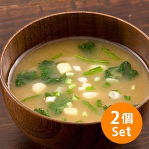 【5%OFF】有機素材自然味道 有機味噌湯 6包 105g (長野縣製)