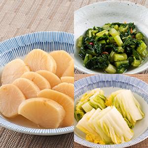 【5%OFF】這就是日本的味道了!3種漬物組合