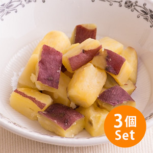 【5%OFF】一開即食!九州甜蕃薯 90g ×3個組合(静岡縣製)