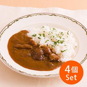 【10%OFF】豪華碟頭飯 日本和牛咖喱×4個