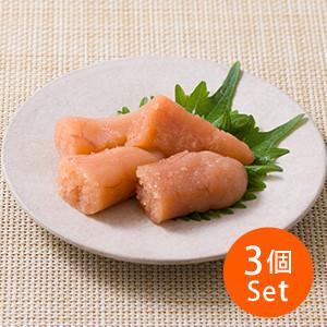 【15%OFF】熱騰騰白飯之友 無色素已切鱈魚子 80g ×3包(福岡縣製)