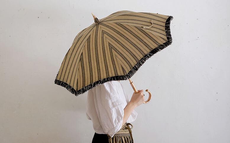 Tabrik リネンの日傘
