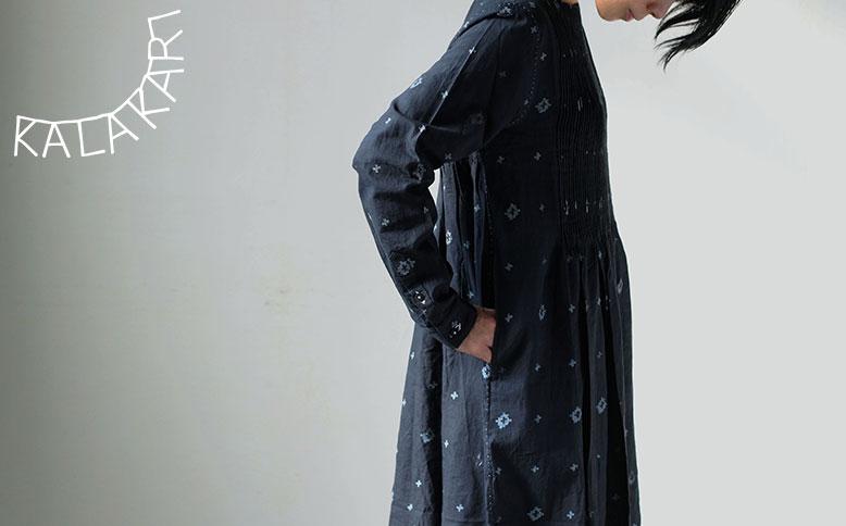 maku textiles  ジャムダニ織りの軽やかな服