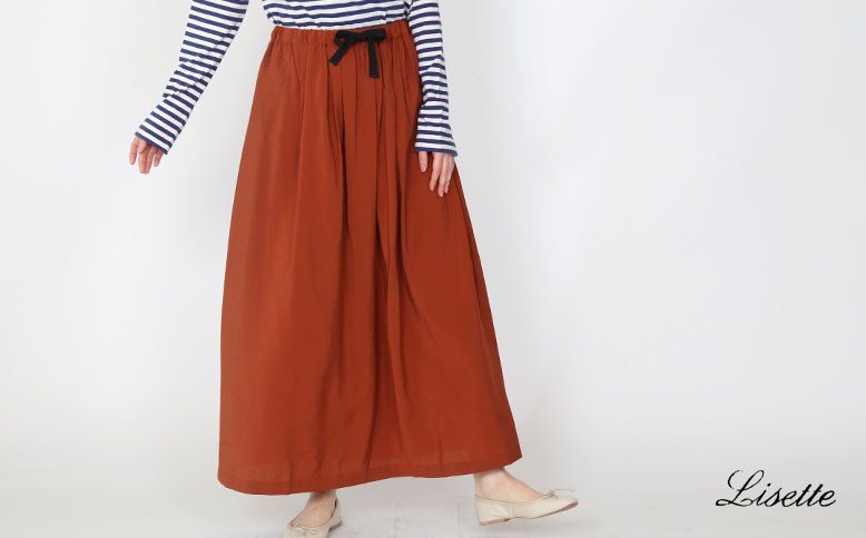 軽やかな春のスカート