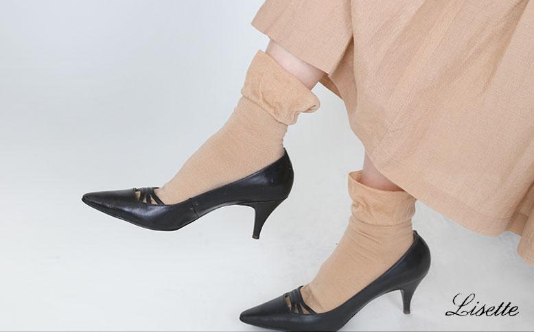 ゆる履き リゼッタ春の靴下いろいろ