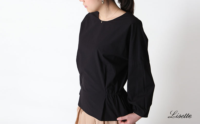 Supima cotton blouse