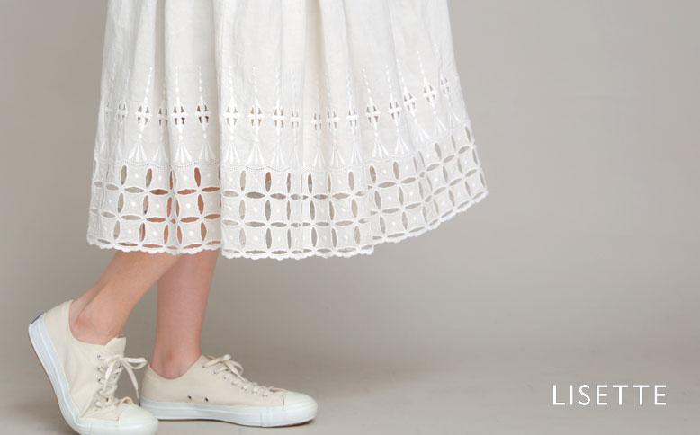リゼッタの定番スカート「ロシェル」の新作