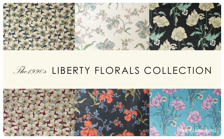 リバティ The 1990s Liberty Florals Collection