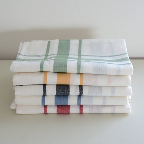 Envelope online shop] LIBECO Kitchen cloth CAMARET the linen bird