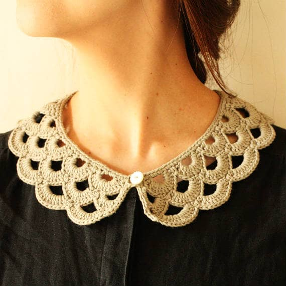 Envelope Online Shop Crochet Pattern Crochet Collar