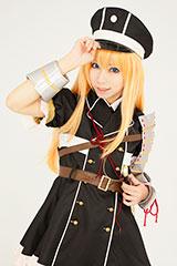 Midare Toushirou-style character wig