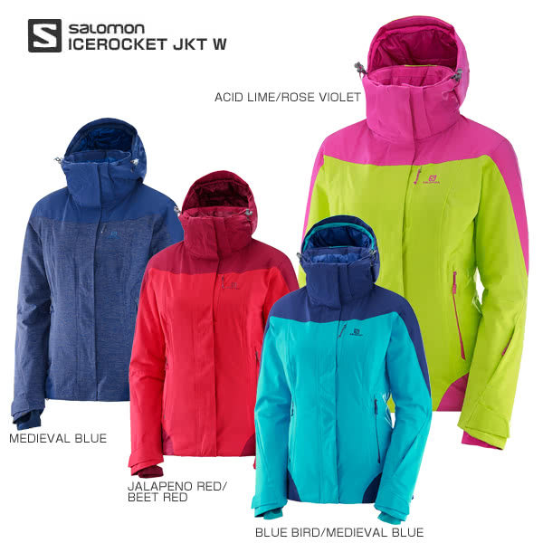 a7ee5499 HC〕SALOMON〔Ladies Ski Wear〕<2018>ICEROCKET JKT W - Ski ...