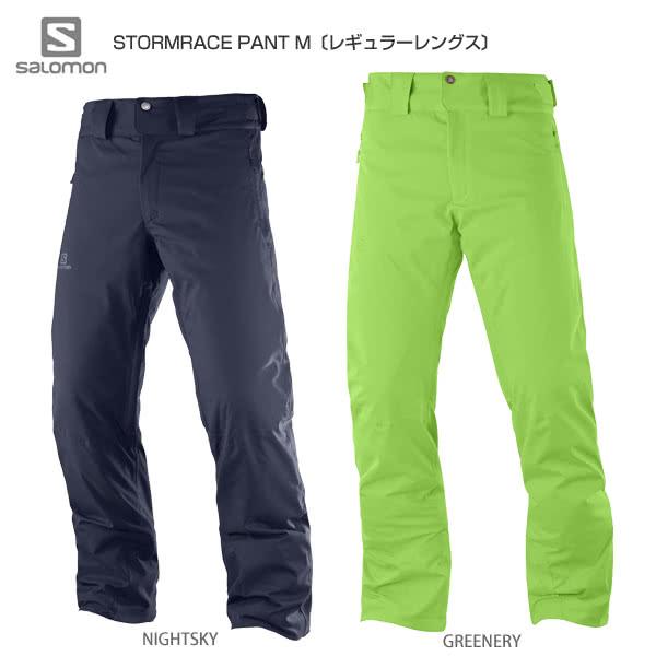 73161573 HC〕SALOMON〔Ski Wear〕<2019>STORMRACE PANT M - Ski Gear ...