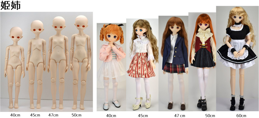 body comparison with Hime-Ane head