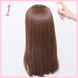 how to curl wig 01