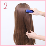 how to curl wig 02
