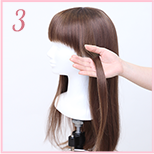 how to curl wig 03