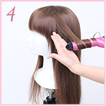 how to curl wig 04