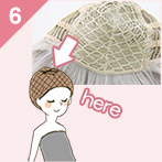 how to wear wig06